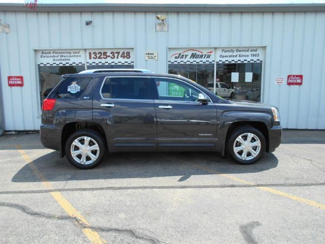 2016 GRAY GMC TERRAIN SLT (2GKALPEK8G6) with an 2.4L engine, Automatic transmission, located at 501 E. Columbia St., Springfield, OH, 45503, (800) 262-7122, 39.925262, -83.801796 - Photo #0