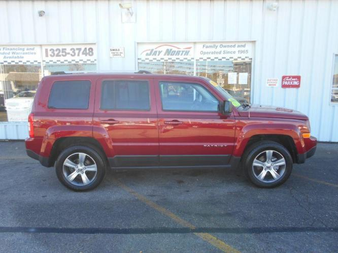 2016 JEEP PATRIOT 4DR