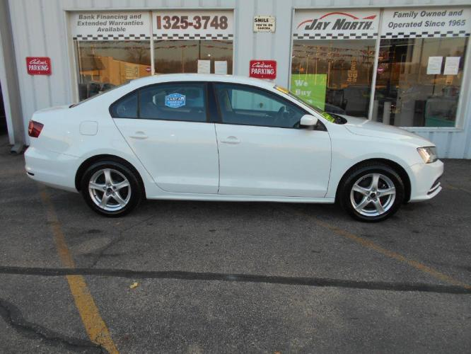 2018 WHITE VOLKSWAGEN JETTA S (3VW167AJ1JM) with an 1.4L engine, 5-Speed Manual transmission, located at 501 E. Columbia St., Springfield, OH, 45503, (800) 262-7122, 39.925262, -83.801796 - Photo #0