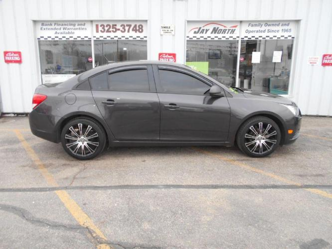 2014 GRAY CHEVROLET CRUZE LS (1G1PB5SH4E7) with an 1.8L engine, 6-Speed Manual transmission, located at 501 E. Columbia St., Springfield, OH, 45503, (800) 262-7122, 39.925262, -83.801796 - Photo #0