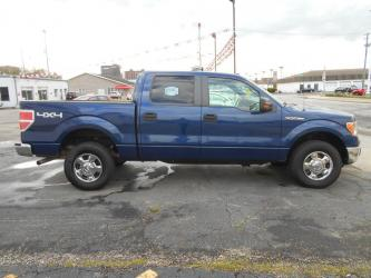 2012 FORD F150 4DR