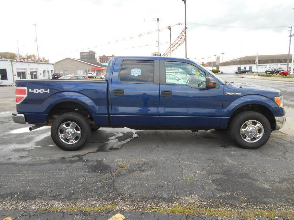 2012 BLUE FORD F150 SUPERCREW (1FTFW1EFXCF) with an 5.0L engine, Automatic transmission, located at 501 E. Columbia St., Springfield, OH, 45503, (800) 262-7122, 39.925262, -83.801796 - Photo #0